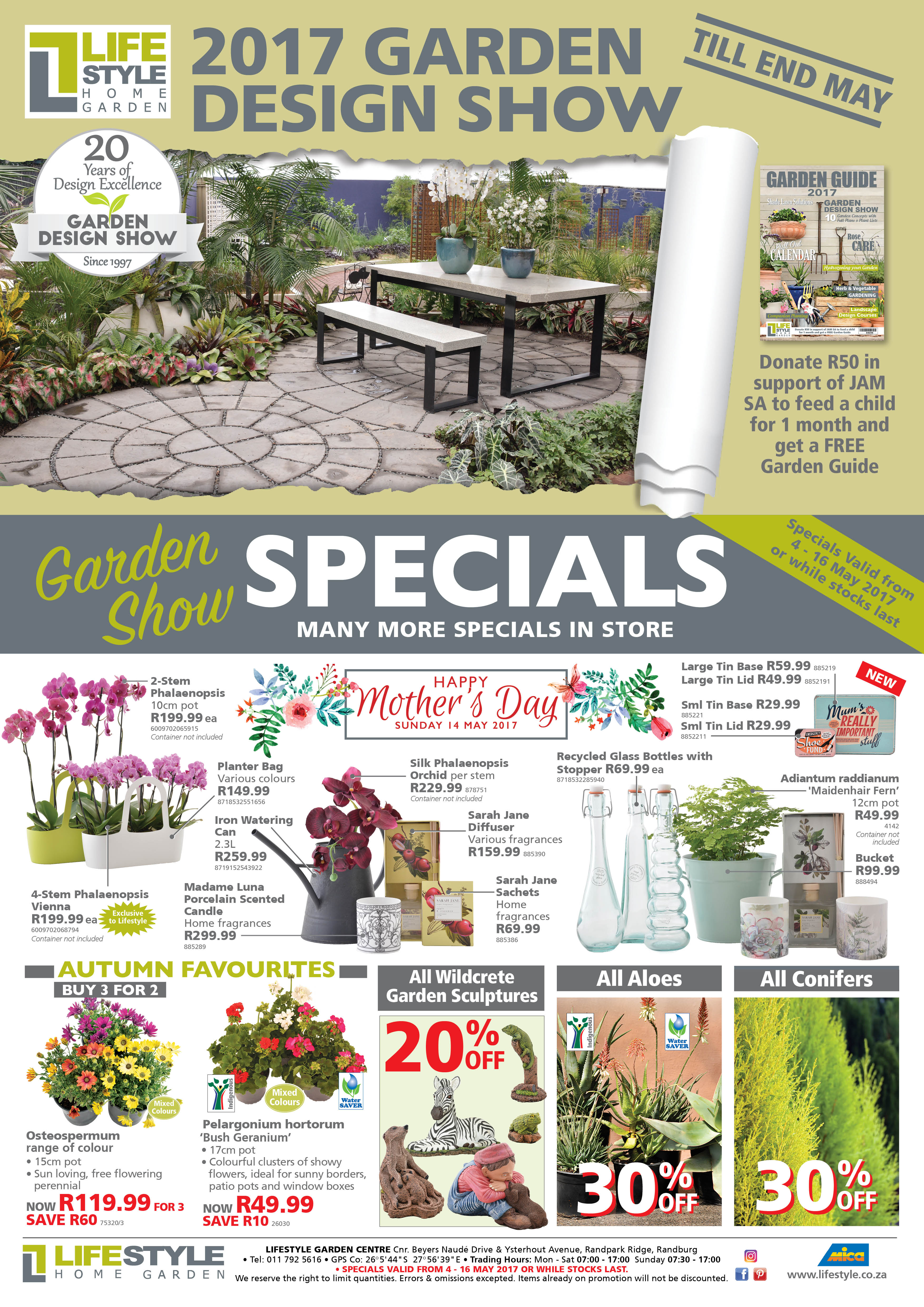 Plant Specials Mother's Day Gifts