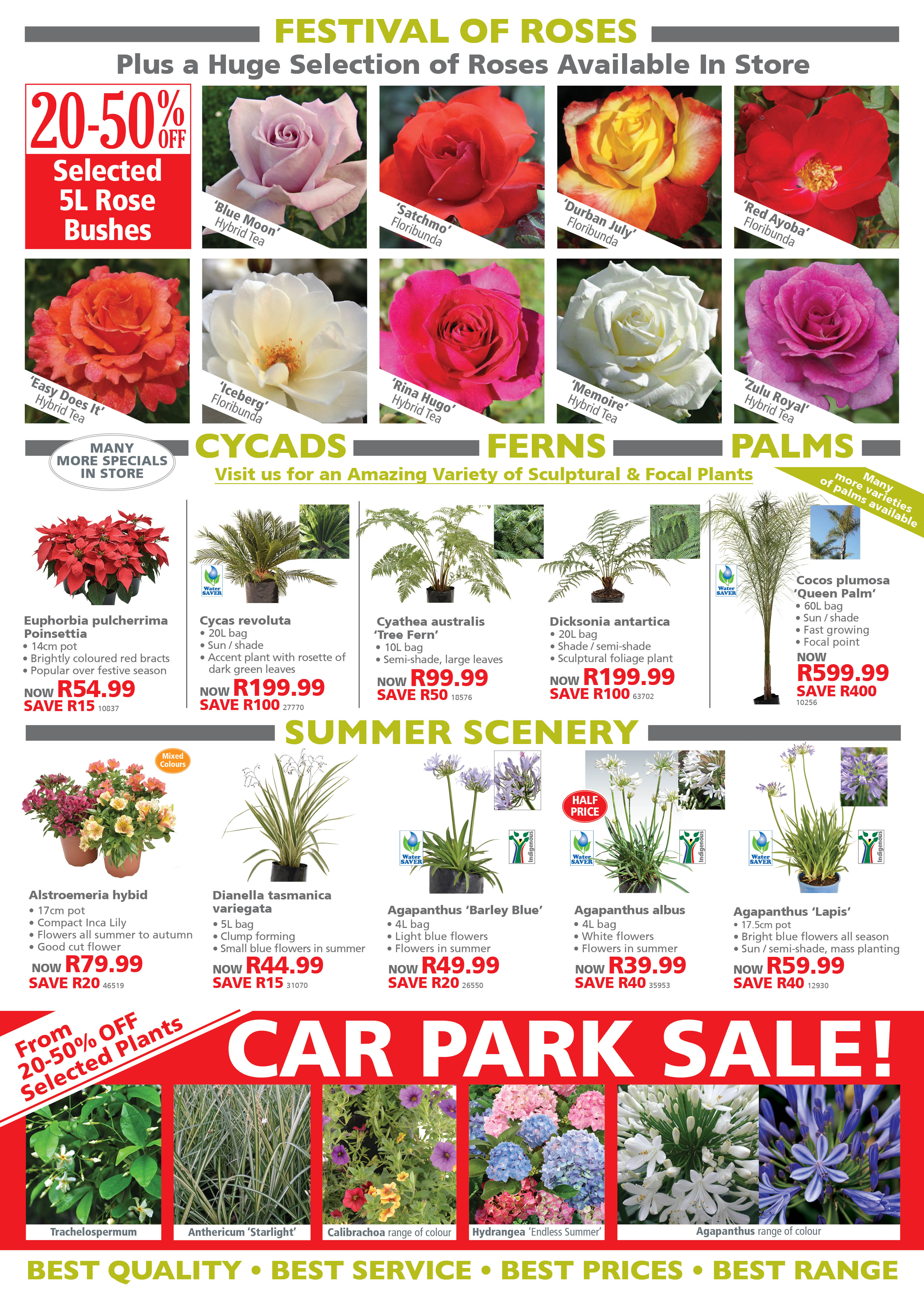 Garden Specials Lifestyle Home Garden plant shop and nursery johannesburg