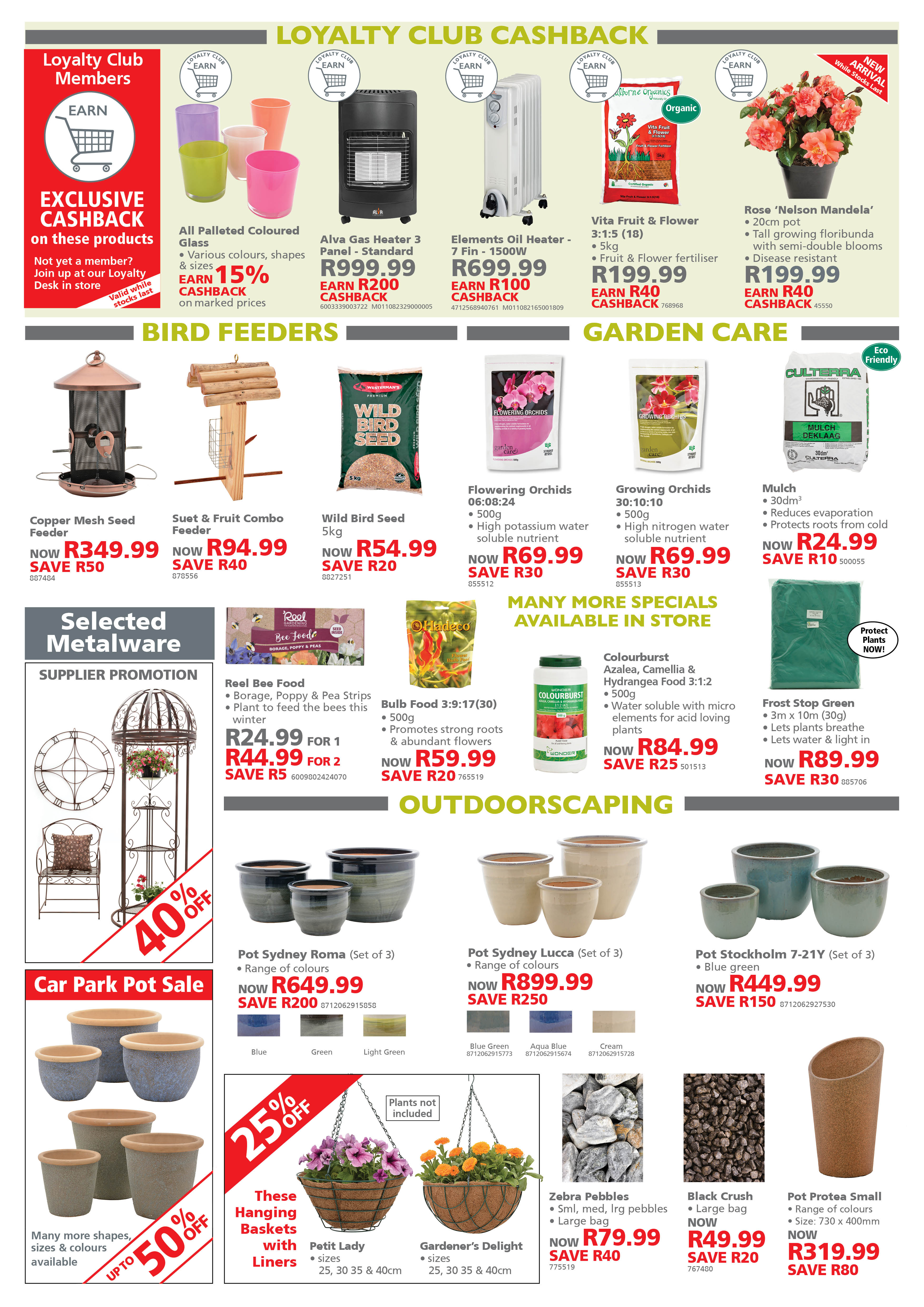 plant specials gardening lifestyle home garden nursery and plant shop johannesburg gauteng