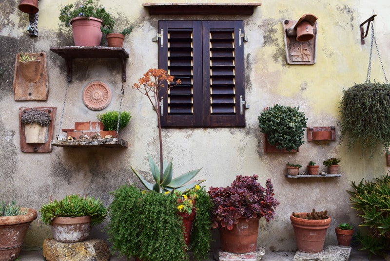lifestyle home garden pots vertical planting planter plant nursery plant shop balcony urban greenie rooftop space
