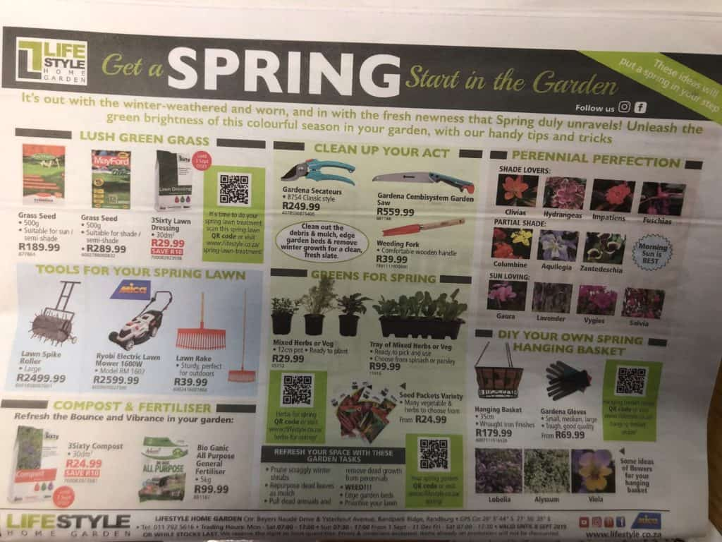 lifestyle home garden nursery plant shop spring specials the sun neighbourhood