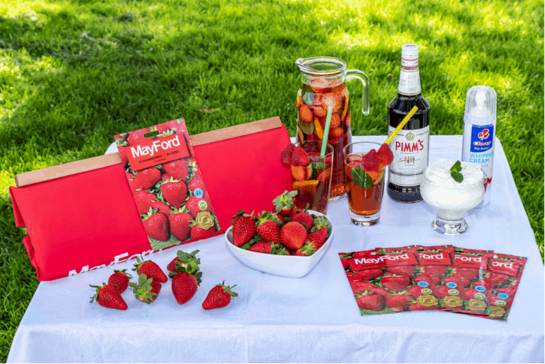 strawberry fruit seed grow your own lifestyle home garden mayford gardening table harvest spring summer english wimbledon pimms cream picnic